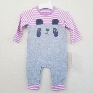 Cat & Jack Cute Striped Romper Newborn